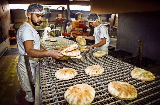 Zu Besuch in der Fladenbrot-Großbäckerei