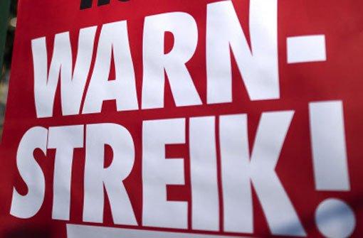 Warnstreiks sollen Land Druck machen
