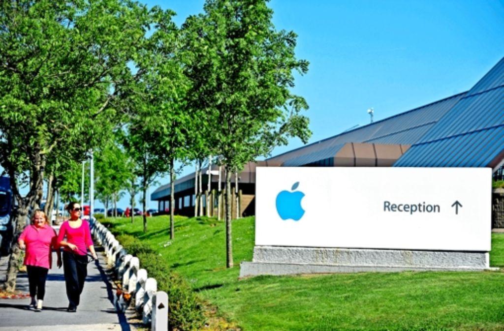 Apple hat Irland viele Jahre lang als Niedrigsteuerstandort benutzt. Foto: dpa
