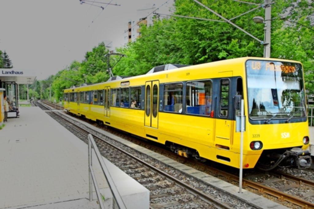Für die große Gelbe ist bislang noch  an der Endhaltestelle Garbe Schluss. Foto: Günter Bergmann