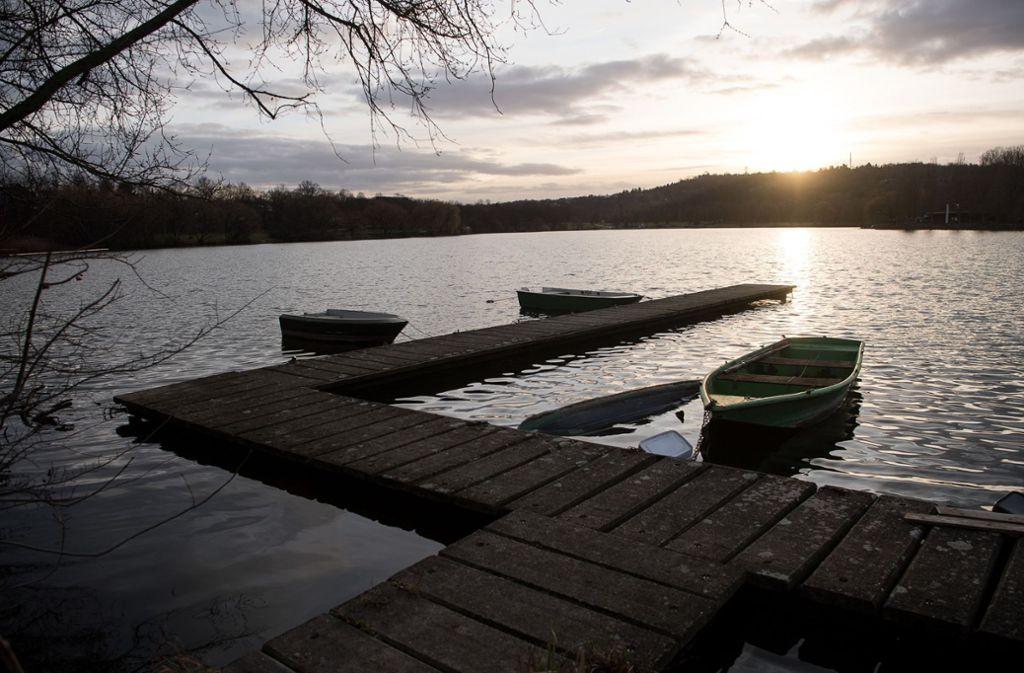 Max-Eyth-See in Stuttgart: Baden-Württemberg war im Januar das zweitsonnigste Bundesland. Foto: dpa