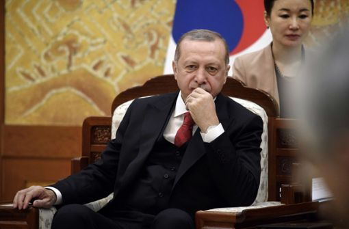 Fünf Konkurrenten für Erdogan