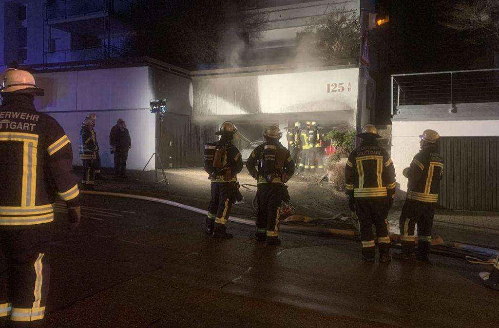 Ein Feuerwerkskörper soll die Brandursache gewesen sein. Foto: 7aktuell.de/ 7aktuell