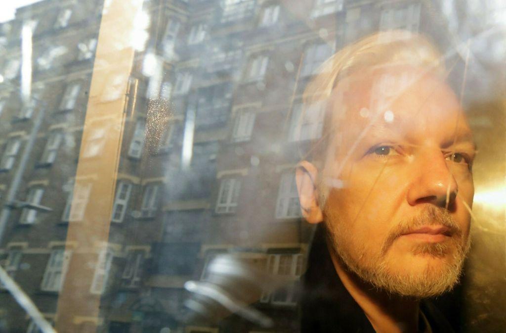 In Schweden hat die Staatsanwaltschaft die Festnahme von Julian Assange beantragt. Foto: AP