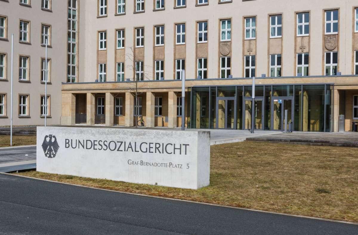 Das Bundessozialgericht setzt einen externen Gutachter ein. Foto: imago images/Rüdiger Wölk