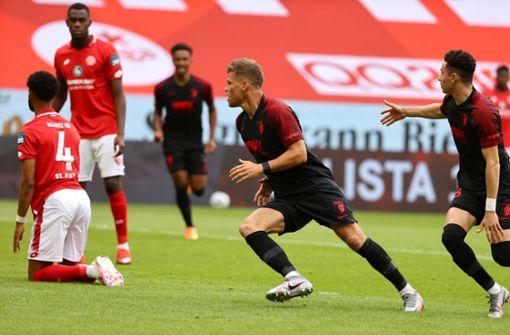 Blitztor von Niederlechner bringt den FSV Mainz 05 in Not