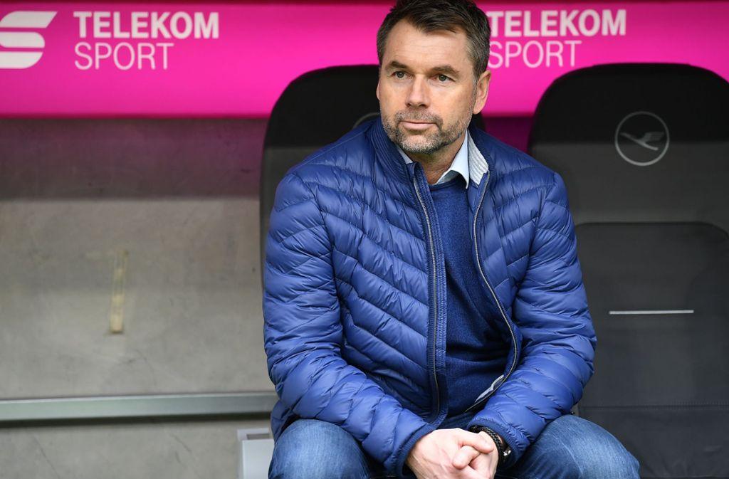 Der HSV hat sich von Trainer Bernd Hollerbach getrennt. Foto: Bongarts