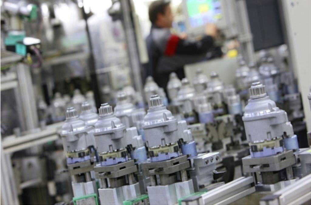 Zum Anlassergeschäft gehören auch Technologien wie Start-Stopp. Foto: Bosch