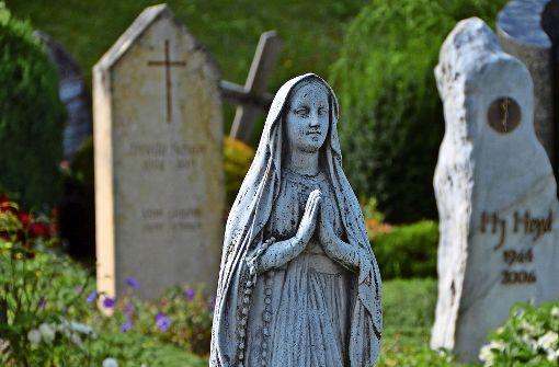 Auf dem Friedhof kehrt nie Routine ein