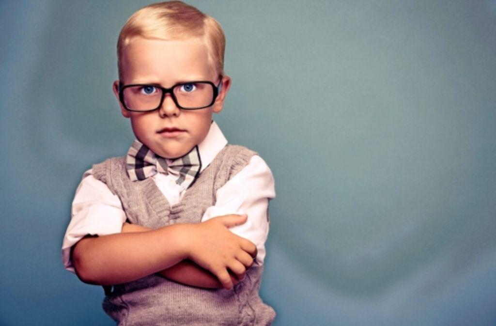 Manche meinen, hinter dieser Brille stecke immer ein Kindskopf. Foto: fotalia
