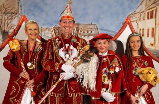 Neues Prinzenpaar eröffnet Faschings-Saison