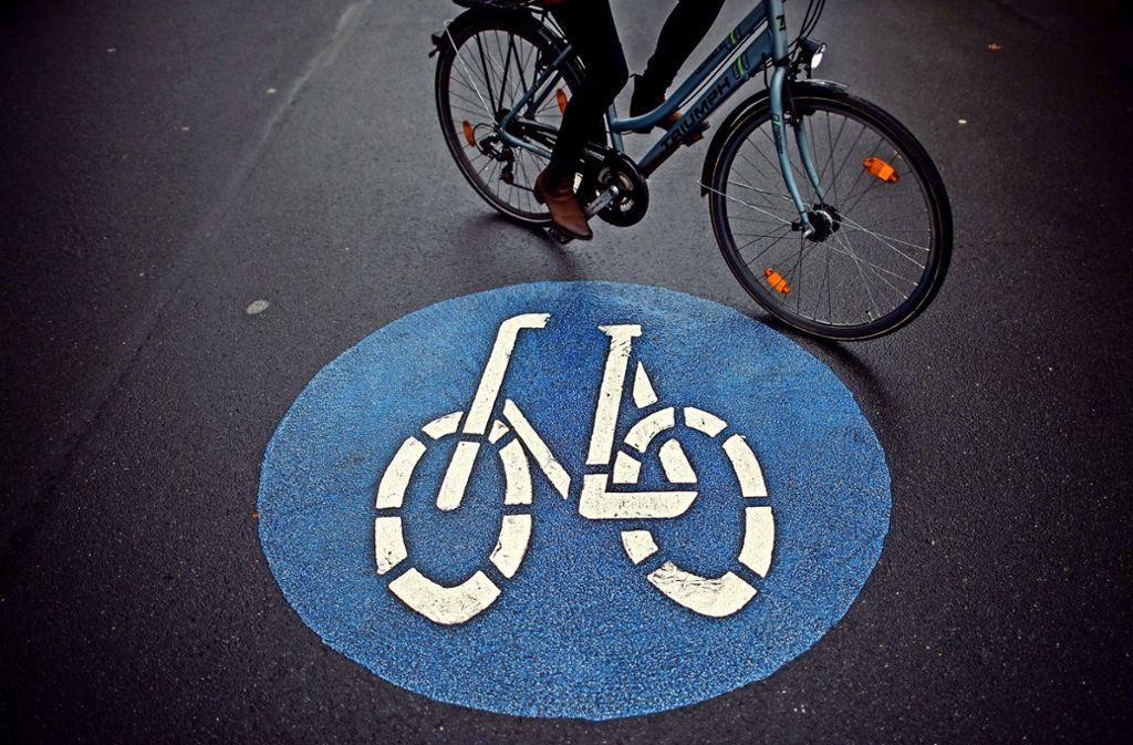 Der Radwegeausbau im Kreis soll vorangetrieben werden. Foto: dpa