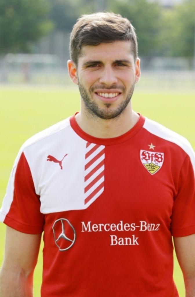 Beim VfB erhielt Insua einen Vertrag bis 2018. Foto: Pressefoto Baumann
