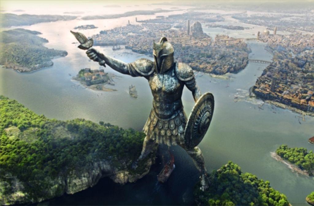 """Die Stadt Braavos aus """"Game of Thrones""""  ist in Stuttgart  entstanden – und war einen Emmy wert. Foto: Mackevision"""