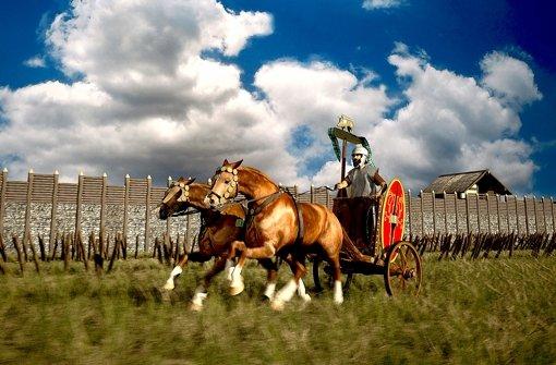 Per Computeranimation erweckt der Film die Kelten der Alb zum Leben. Foto: 3dmuseum.eu