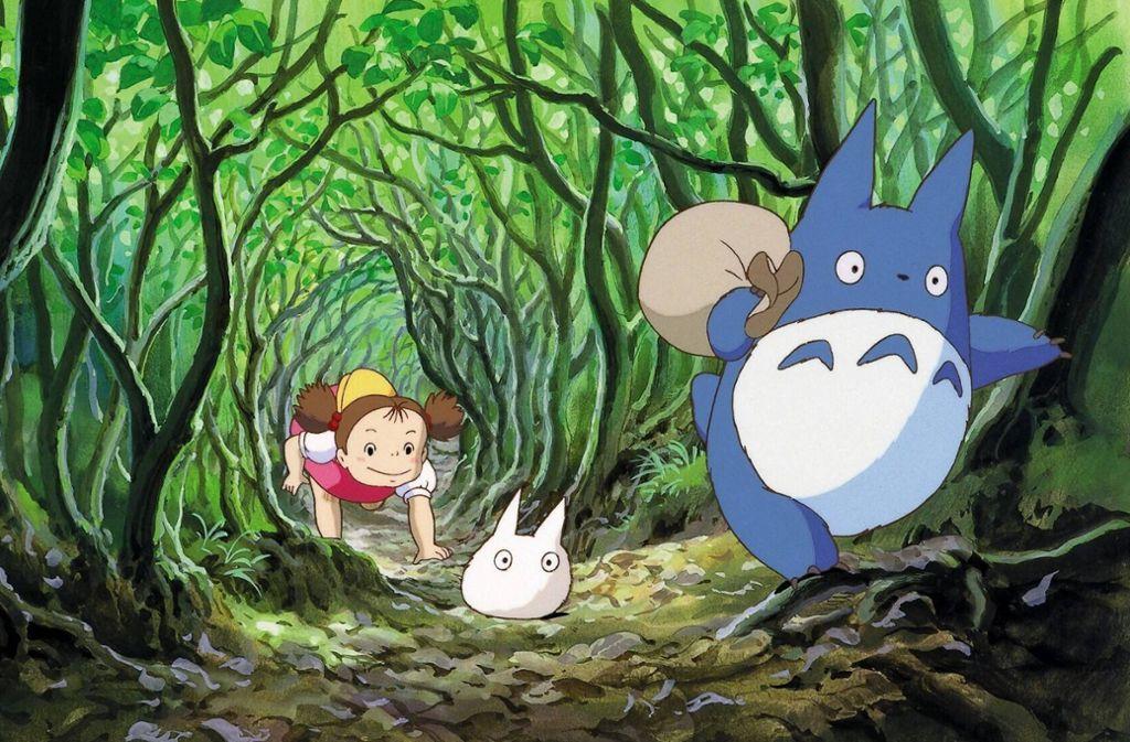 """Animationskunst aus Japan: Szenenbild aus """"Mein Nachbar Totoro"""" von 1988 Foto: imago images/Mary Evans"""