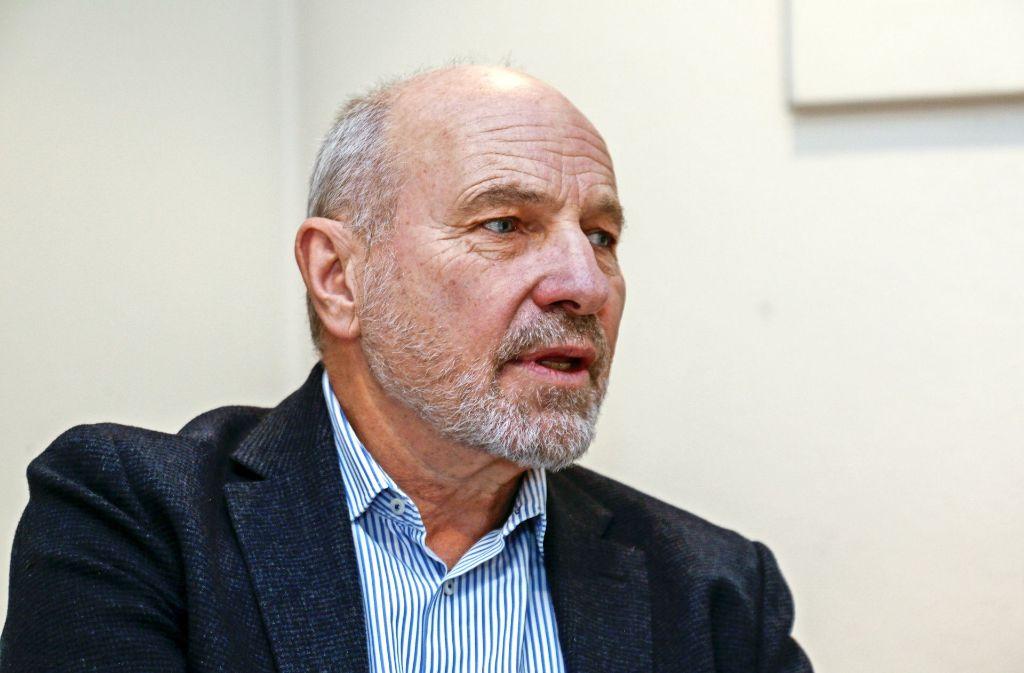 Rainer Arnold   steht   seiner Partei weiterhin mit Rat und Tat bei. Foto: Thomas Krämer/Archiv