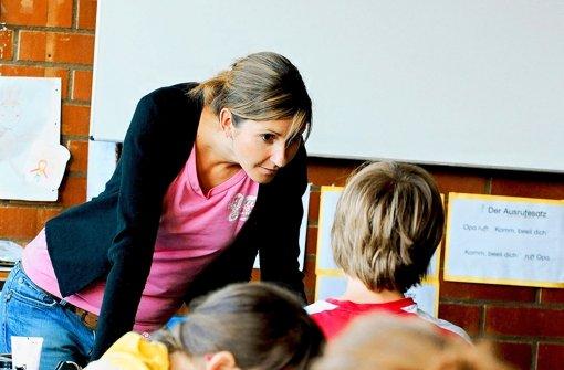 Lehrer bringen sich in Position
