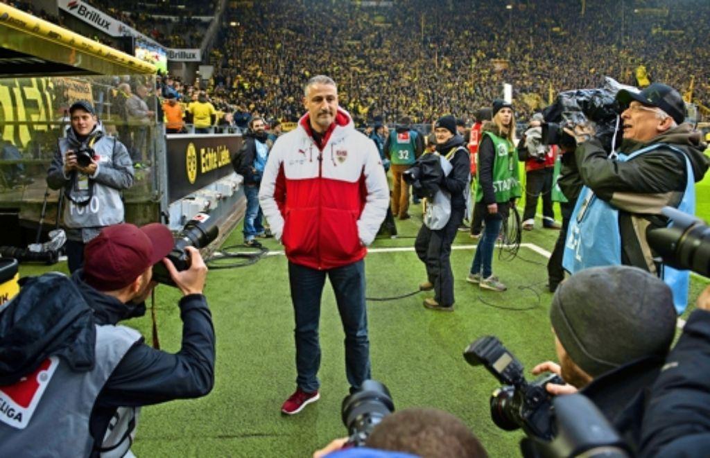 Im Blickpunkt des Interesses: der 44-jährige Jürgen Kramny wird als Bundesligatrainer des VfB verstärkt wahrgenommen. Foto: dpa