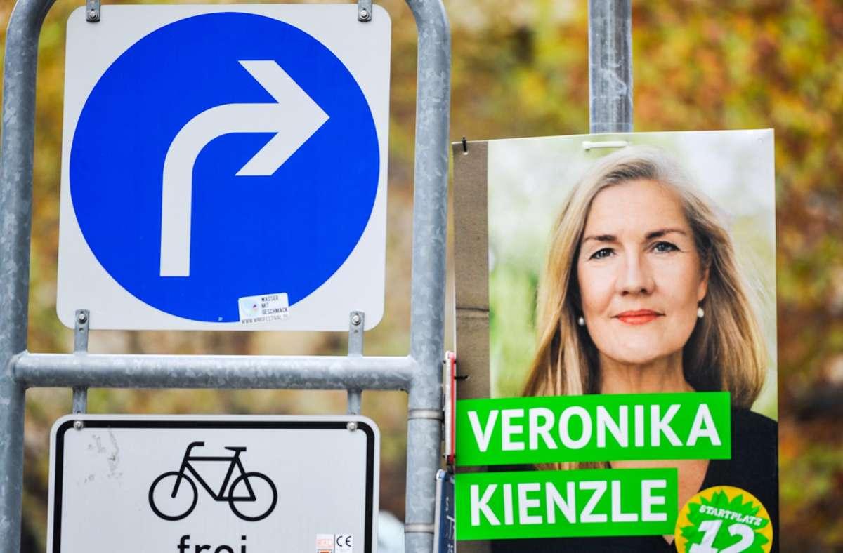 Die Grünen-Kandidatin Veronika Kienzle wird für die entscheidende OB-Wahl am 29. November keinen der beiden verbliebenen Kandidaten aus dem öko-linken Lager empfehlen. Foto: Lichtgut/Max Kovalenko