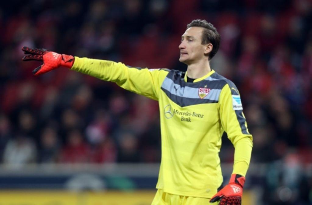 Brachte den VfB Stuttgart gegen Mainz in Bedrängnis. Torhüter Przemyslaw Tyton. Foto: Pressefoto Baumann