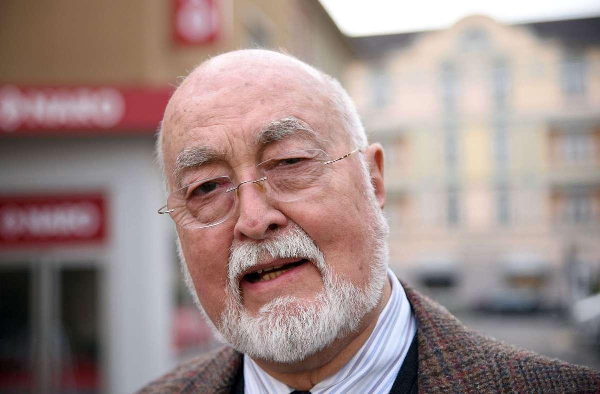 Ludwig Haas ist im Alter von 88 Jahren in seinem Wohnort Neumünster gestorben (Archivbild). Foto: dpa/Henning Kaiser