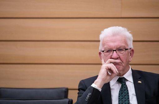 Kretschmann will Lockdown verlängern und verschärfen