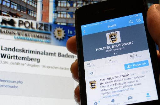 Twitter und Facebook für Polizei unverzichtbar