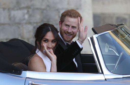 Erster öffentlicher Auftritt für Harry und Meghan