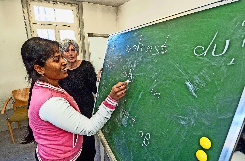 Sprachkurse sollen die Integration beschleunigen Foto: factum-Weise