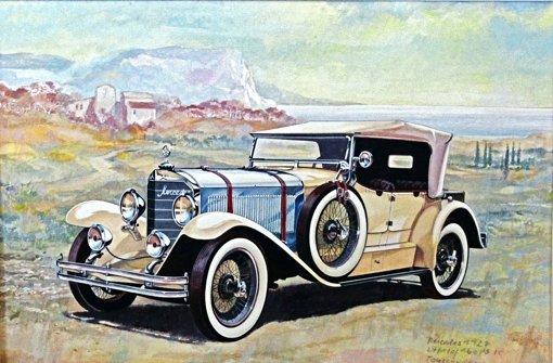 Von Mercedes bis Maybach, von Bugatti bis Ferrari