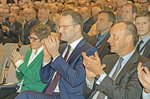 Die Union blüht auf – und der Spaltpilz gedeiht