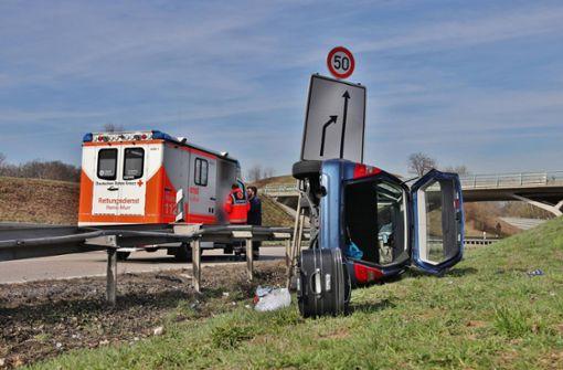 Mercedes kippt nach medizinischem Notfall um