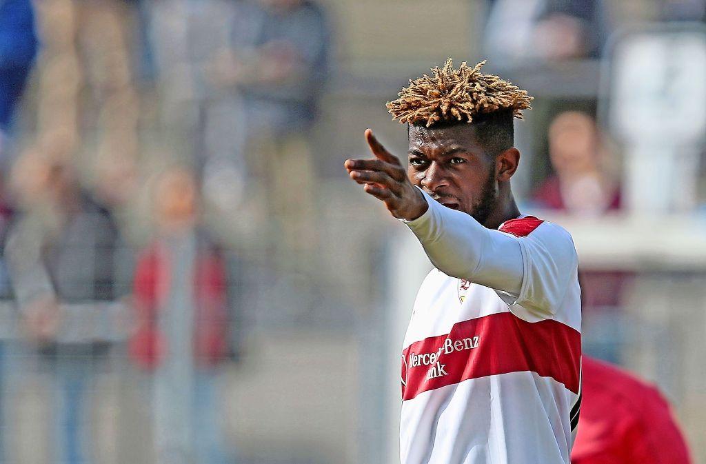 Bislang nur für die zweite Mannschaft aktiv: Jérôme Onguéné Foto: Baumann