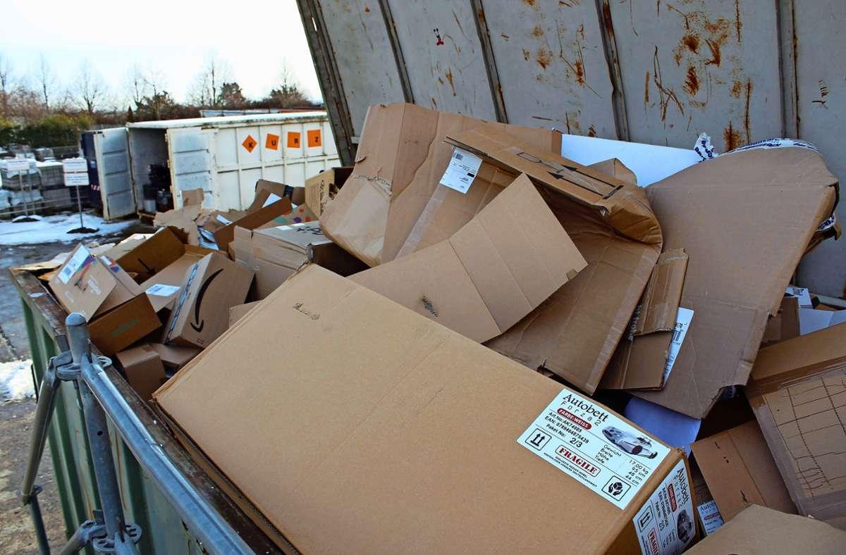 Die Menge an Altpapier ist in Stuttgart gesunken, das Volumen indessen gestiegen. Foto: Jacqueline Fritsch