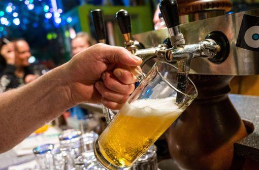 Bier-Tief in Deutschland im Corona-Jahr