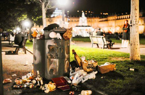 Wenn die Partyhotspots zu Müllhalden werden