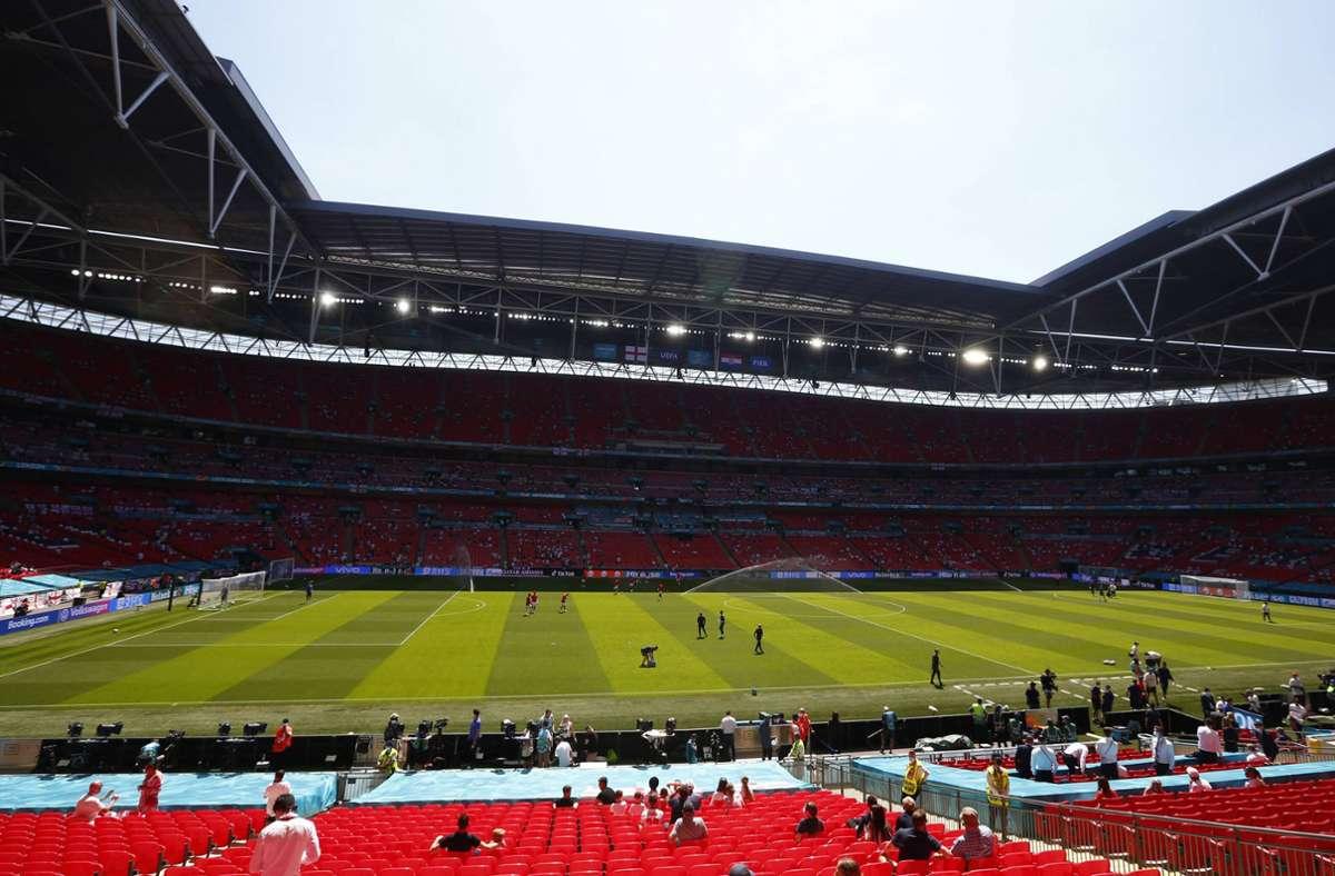 Im Wembley-Stadion soll am 11. Juli das EM-Finale stattfinden. Foto: imago sportfotodienst