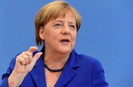 "Merkel mahnt Erdogan zu ""Verhältnismäßigkeit"""