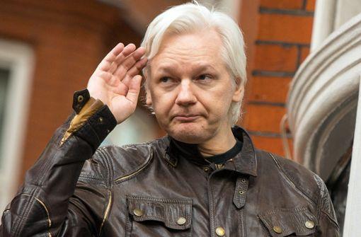Julian Assange in London festgenommen