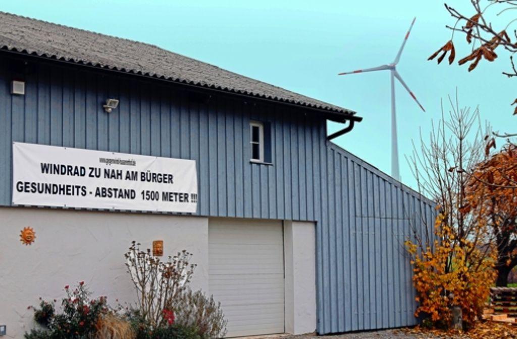 Bewohner des Husarenhofs klagen über Geräusche des  nahen Rotors. Foto: factum/Weise