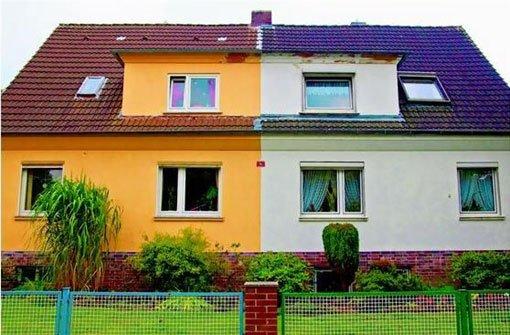 Fassadenfarbe  Qual der Wahl: Fassadenfarbe gut überlegen - Wohnen & Bauen ...