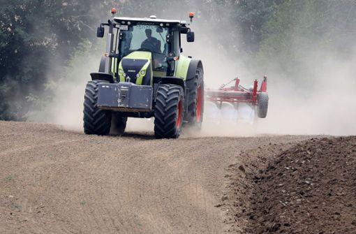 79-Jähriger mit Traktor auf falscher Spur