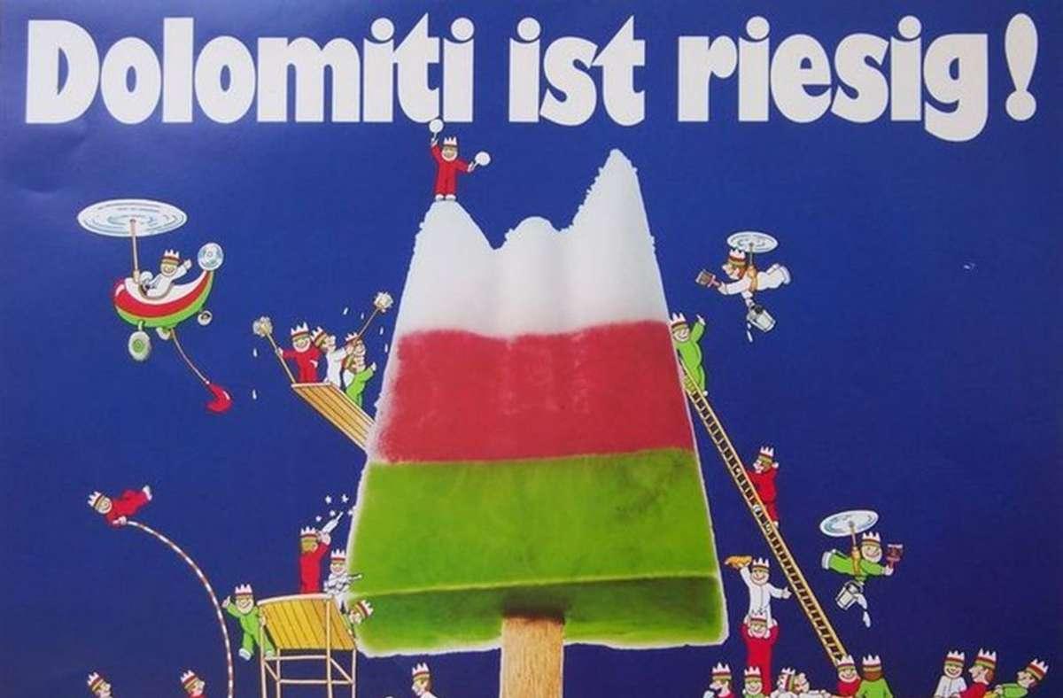 Eis am Stiel gibt's in vielen Variationen. Bis heute ist Dolomiti  Kult. Foto:Cool Collection/Tobias Sadecki Foto: