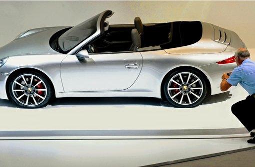 Als zweite Variante des neuen 911ers ist im Frühjahr das Cabrio auf den Markt gekommen. Foto: dpa