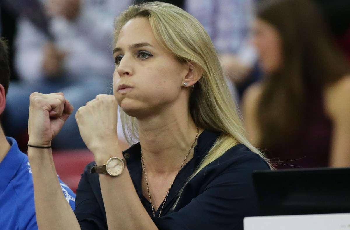 Kim Renkema: Die Sportchefin von Allianz MTV Stuttgart kämpft  schon lange vor dem Saisonstart um eine möglichst gute Ausgangsposition. Foto: Baumann