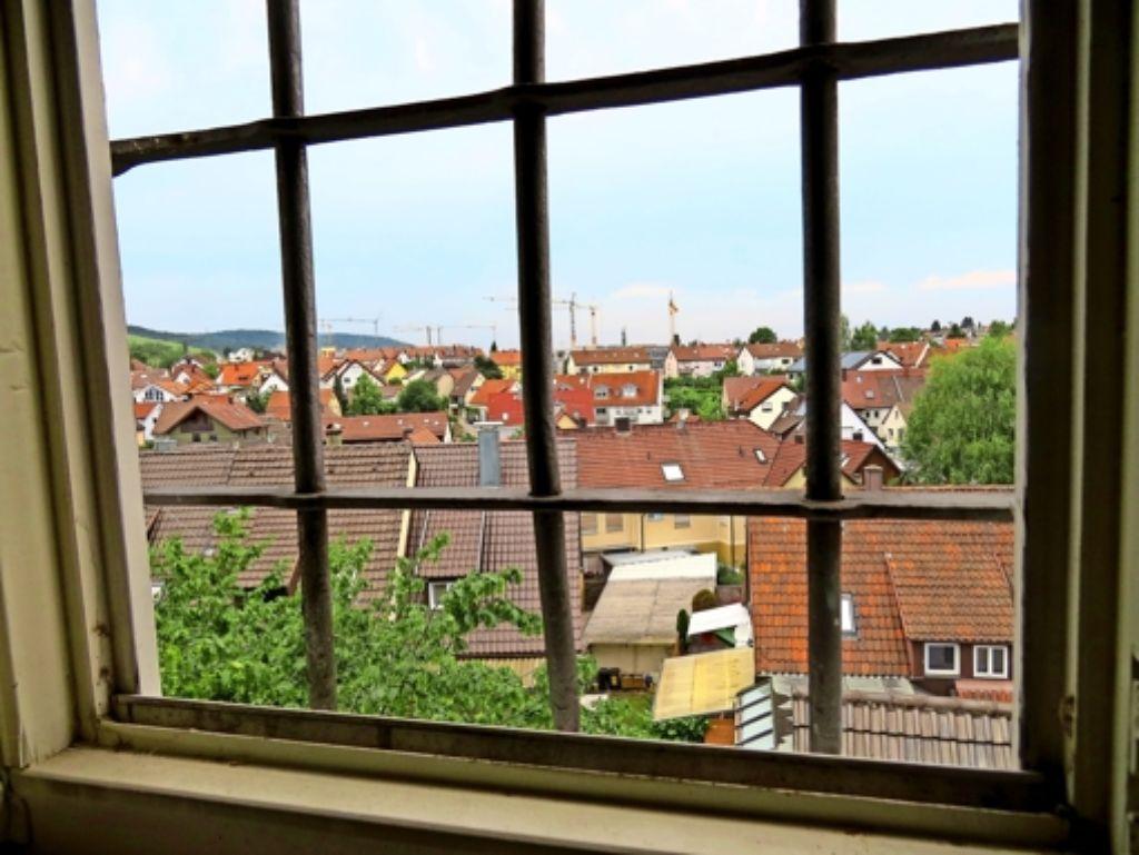 Die Aussicht aus dem Arrest im Stettener Rathaus hat die Insassen Foto: Simone Käser