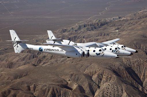 Virgin Galactic will 2019 erstmals Touristen ins Weltall bringen