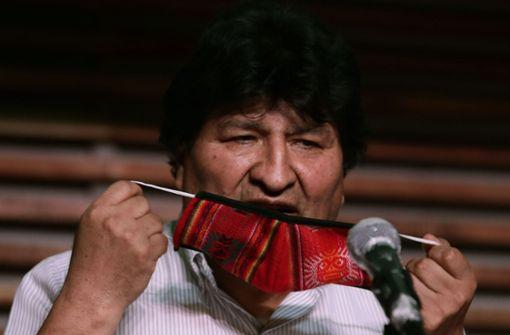 Morales kann auf Rückkehr hoffen
