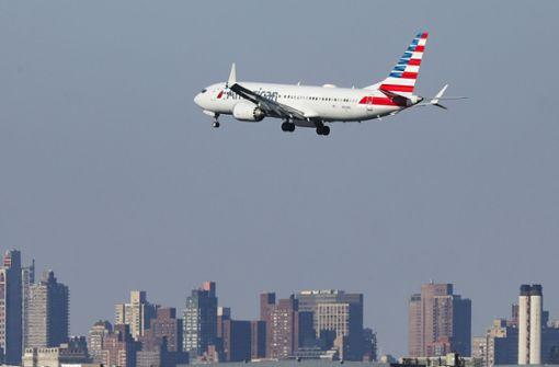 Boeings 737 müssen am Boden bleiben